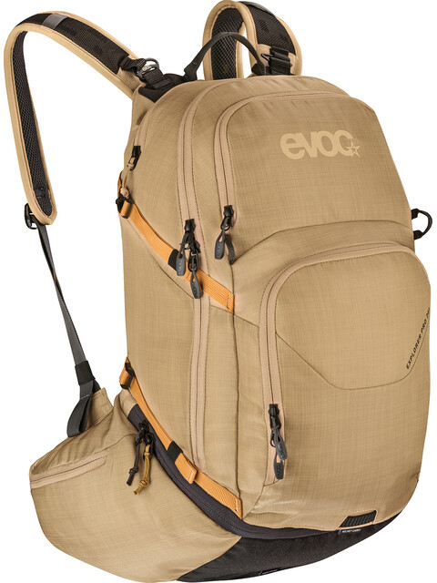 EVOC Explorer Pro Technical Performance Pack 26l Heather Gold